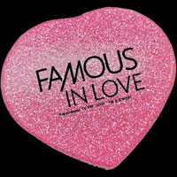 FAMOUS IN LOVE ラメハートミラー